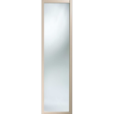 "Shaker Sliding Wardrobe Door 610mm (24"") Maple Mirror Door"